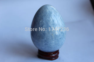 (320-360g) 100%  natural  celestite  quartz crystal  egg