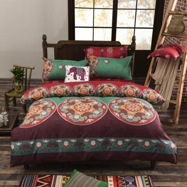 Bohemia 3D Bedding Sets Mandala Duvet Cover Sets Winter Sheet and Pillowcases Full Queen King Size Bedlinen