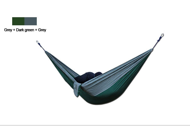 2 People Outdoor Leisure Parachute Hammock for Camping Travel Outdoor Parachute Fabric Hammock for Two Person - ShopNowBeforeYouDie.com