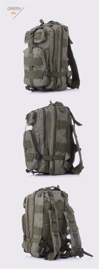 Tactical Military outdoor Leaves  Camouflage backpack.