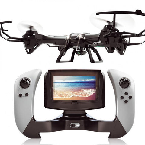 RC Quadcopter HD Camera RC Helicopter  Drone With Camera HD Simulator real-time transmission  WIFI 2.4G FPV 4CH 6 Aixs U818S - ShopNowBeforeYouDie.com