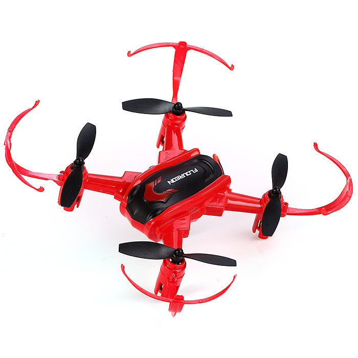 Arrival Floureon mini drone H101 Headless Mode 2.4GHz 4CH 6 Axis Gyro RC Quadcopter 3D Inverted Flight rc helicopter