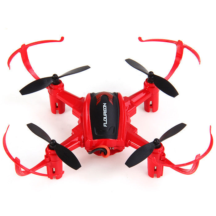 Arrival Floureon mini drone H101 Headless Mode 2.4GHz 4CH 6 Axis Gyro RC Quadcopter 3D Inverted Flight rc helicopter - ShopNowBeforeYouDie.com