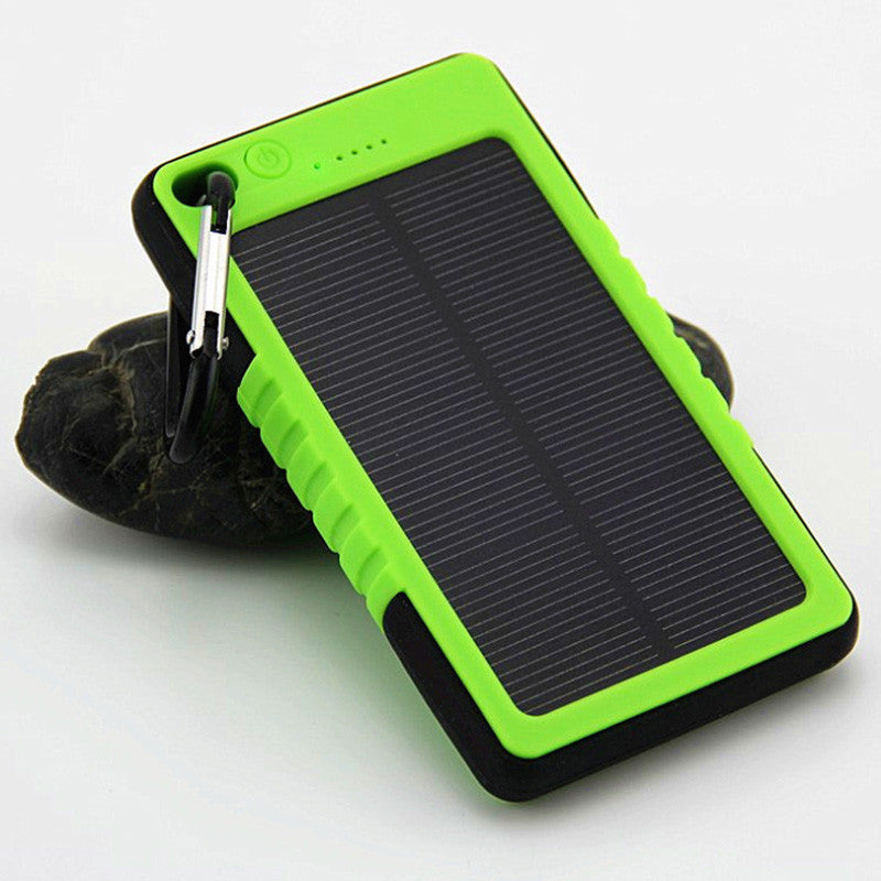 New Waterproof Solar Power Bank 5000mAh Portable Li-Polymer Battery Solar Charger Bateria Externa Pack for Mobile phone - ShopNowBeforeYouDie.com