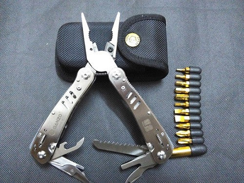 Ganzo High Quality Stainless Steel Combination  Folding Multi Pliers camping tool  G302B.