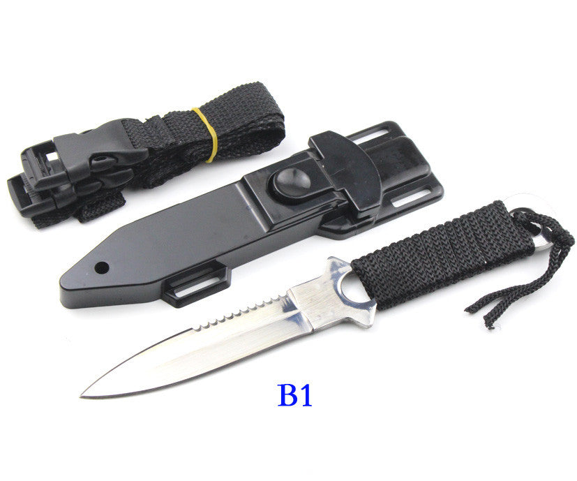 Haller Leggings/Paratroopers Knife Stainless Steel Diving Straight knife Outdoor Survival Camping Pocket Knife Tactical Knife