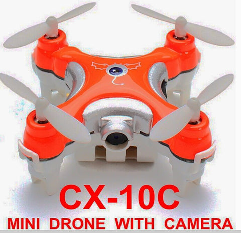 2.4G 4CH Cheerson CX-10C 6 Axis Remote Control RC Helicopter With Camera Quadcopter Drone Ar.drone VS mjx x101 x600 x800 x400 - ShopNowBeforeYouDie.com