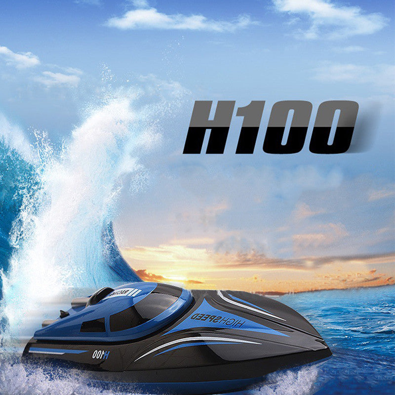 Hot Skytech H100 2.4G Remote Controlled 180 Degree Flip High Speed Electric RC Racing Boat - ShopNowBeforeYouDie.com