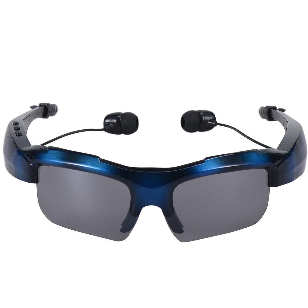 Fashional Sunglasses Pattern Sports Stereo Wireless Bluetooth Headset for General cell phone Sports drving earphone Hot Sales