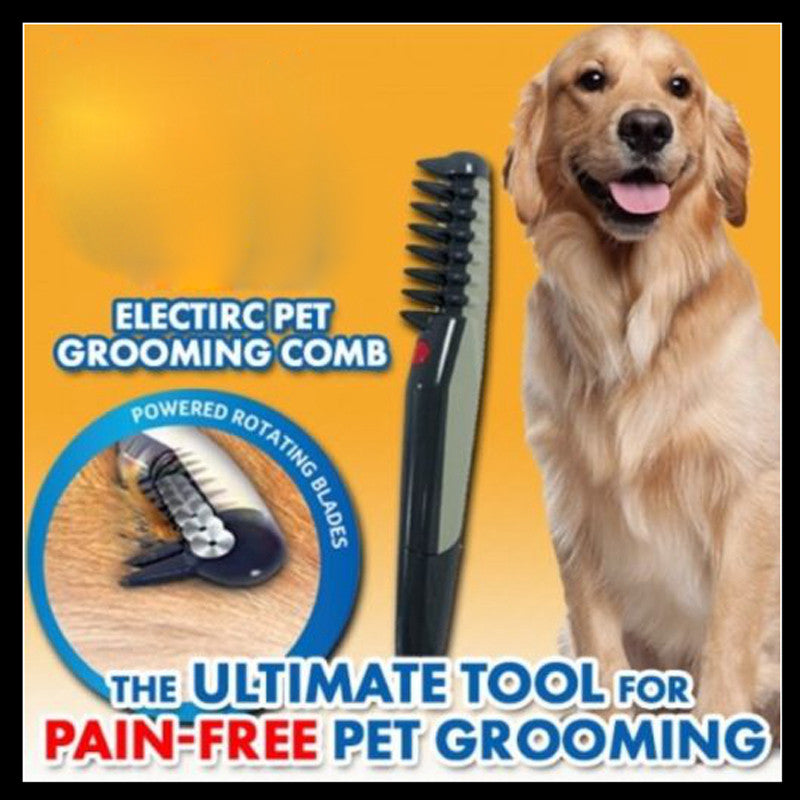Knot Out Electric Pet Grooming Comb for Cats and Dogs - ShopNowBeforeYouDie.com