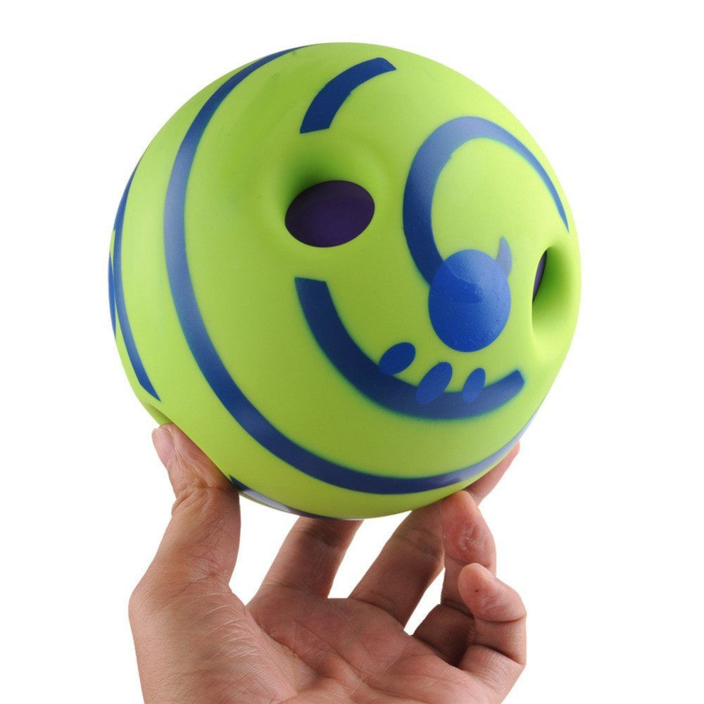 Lovely Wobble Wag Giggle Ball Dog Play Ball with Funny Sound Keeps Dogs Happy All Day - ShopNowBeforeYouDie.com