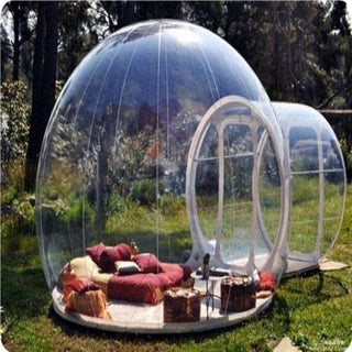 outdoor camping bubble tent, clear inflatable - ShopNowBeforeYouDie.com