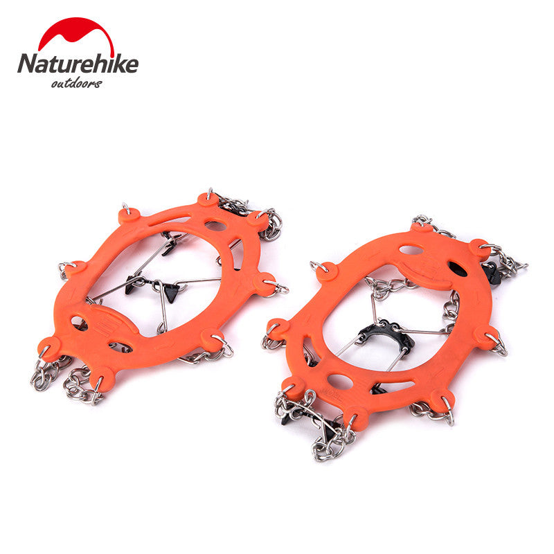 High Quality Sports Orange Winter Anti Slip Ice Gripper