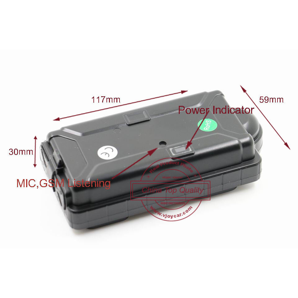 GSM GPRS Wifi GPS Tracker GPS Data Logger 5000mAh Rechargeable Battery Powerful Magnet Waterrpoof