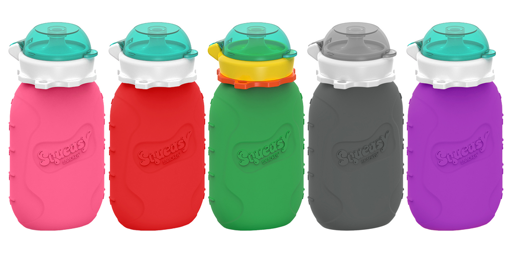 Exclusive UK distributor - Squeasy Gear, a unique reusable food pouch