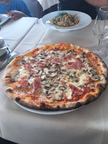 Pizza in Taormina