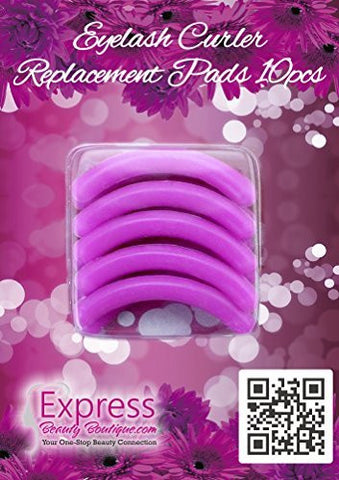 10 pcs Express Beauty Boutique Eyelash Curler Refill Replacement Pads. SHIP to USA only