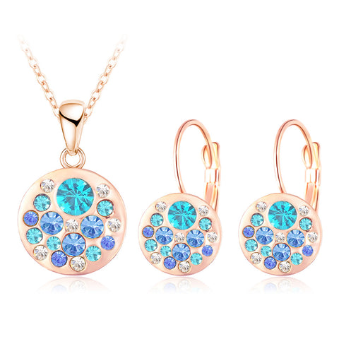 Jewelry Set for Women Pendant and Earrings
