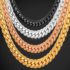 Classic Chain Necklace Jewelry For Men. FREE USA Shipping