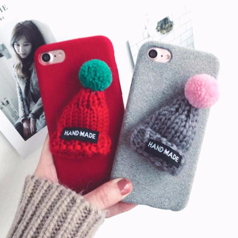 IPhone Case 3D Hat Phone Case for Iphone 6 6s 6plus 7 7plus 5SE