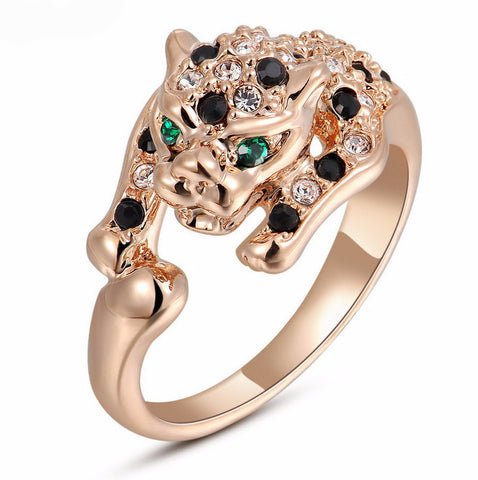 Leopard Ring For Women. SHIP to USA only