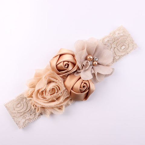 Lace Flower Baby Girls Headband