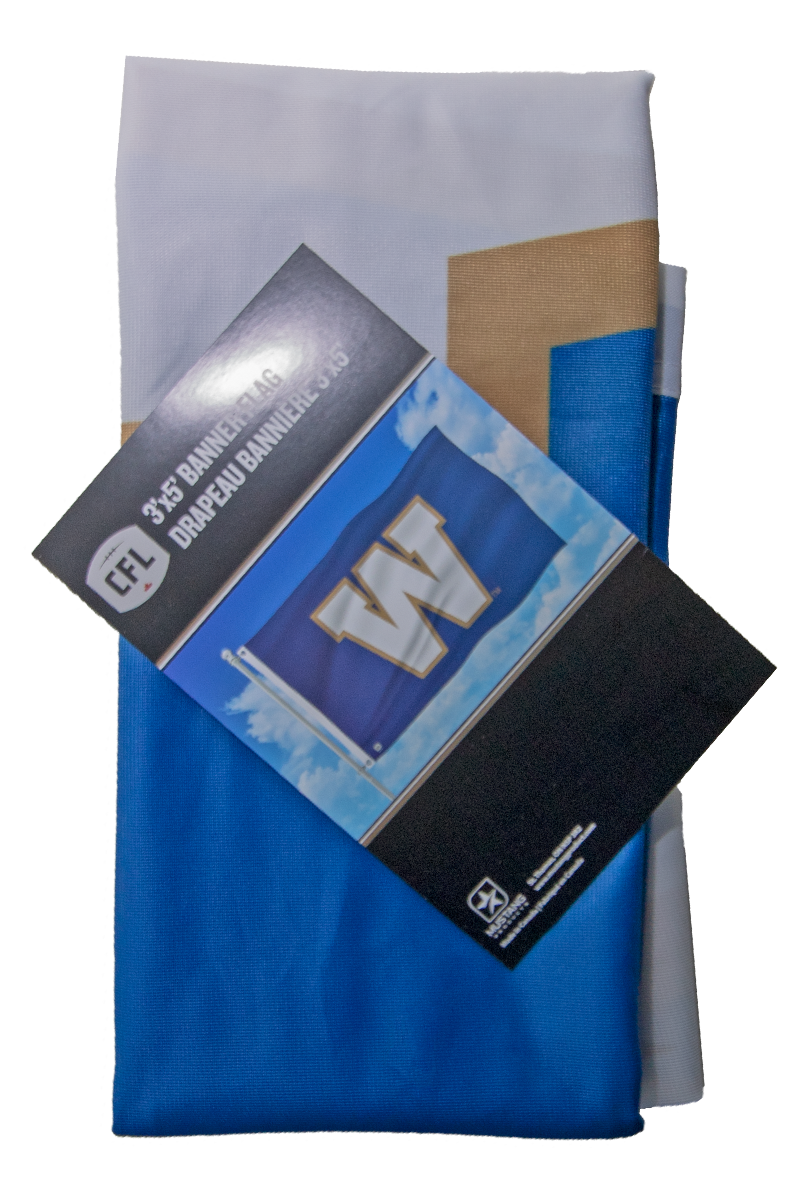 Winnipeg Blue Bombers 3'x5' Banner Flag