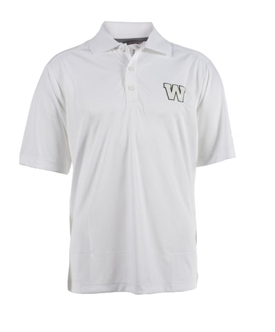 ELEVATE WHITE DADE POLO