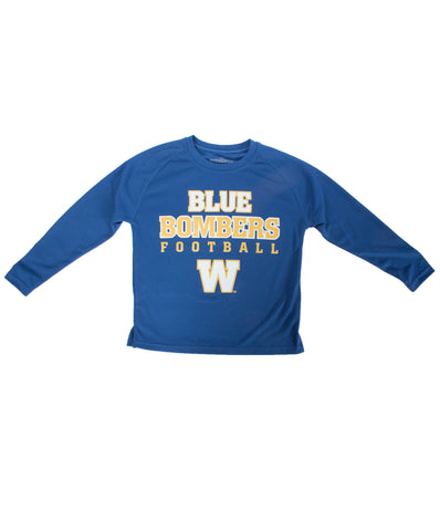 ROYAL YOUTH L/S BLUE BOMBER FB