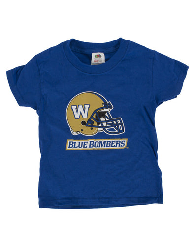 Infant Helmet Logo Royal Tee