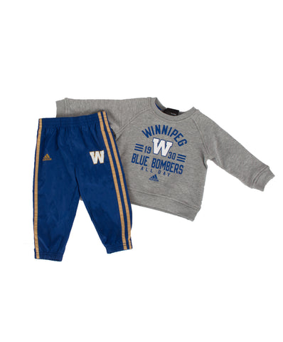 WBB ALL DAY CREW/PANT SET