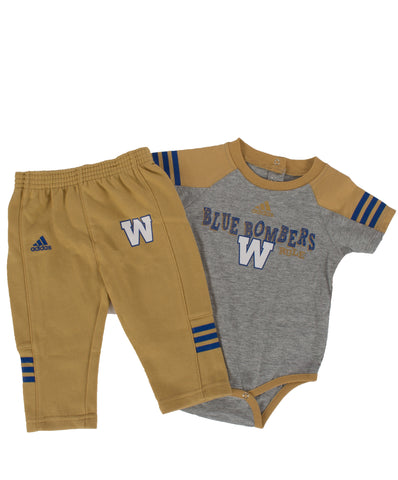 TODDLER POWER ONE CREEPER SS/PANT SET