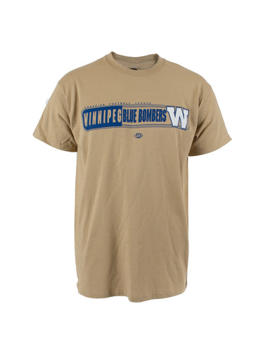 Men's Logo Bar Gold Tee