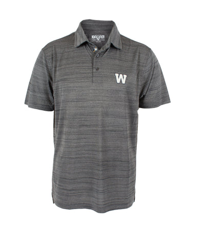 Heather Grey Dart Sway Polo