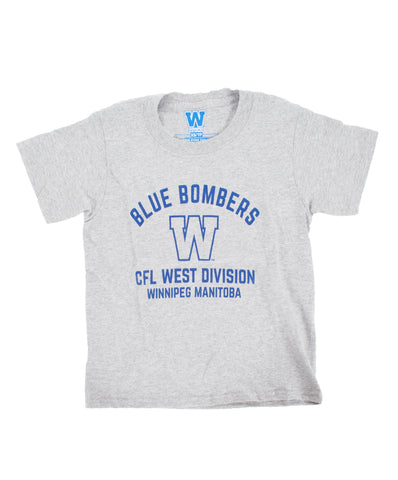 Youth Blue Bombers West Tee