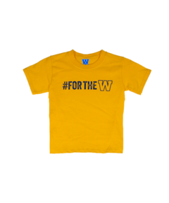 Youth Gold #FORTHEW Tee