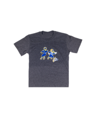 Buzz & Boomer Dark Grey Tee