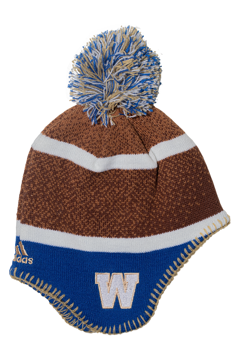 Blue Bombers Football Head Knit Toque