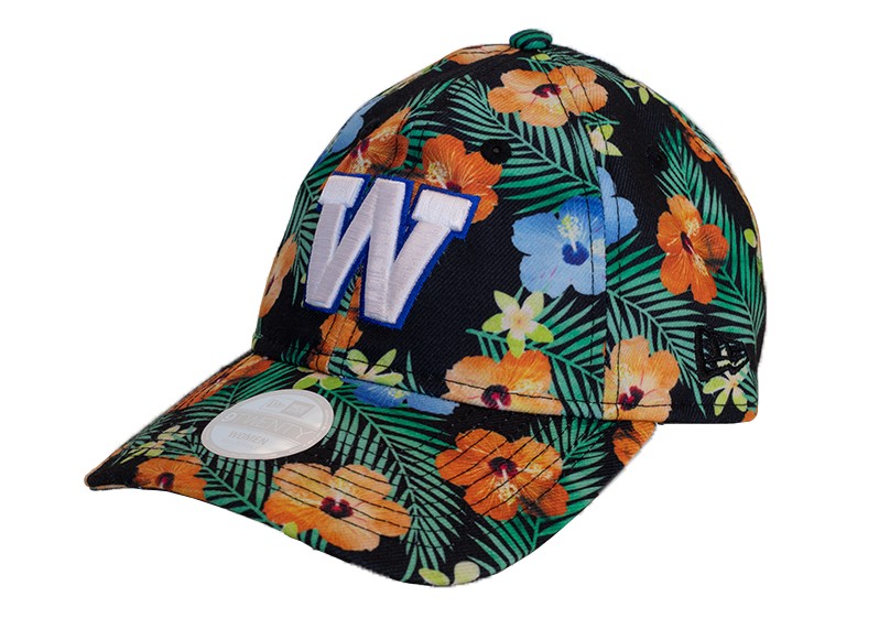 Blue Bombers New Era 9Twenty Floral Grey Cap