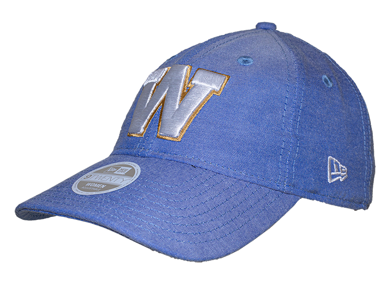 Blue Bombers New Era 9Twenty Royal Linen Leap Cap
