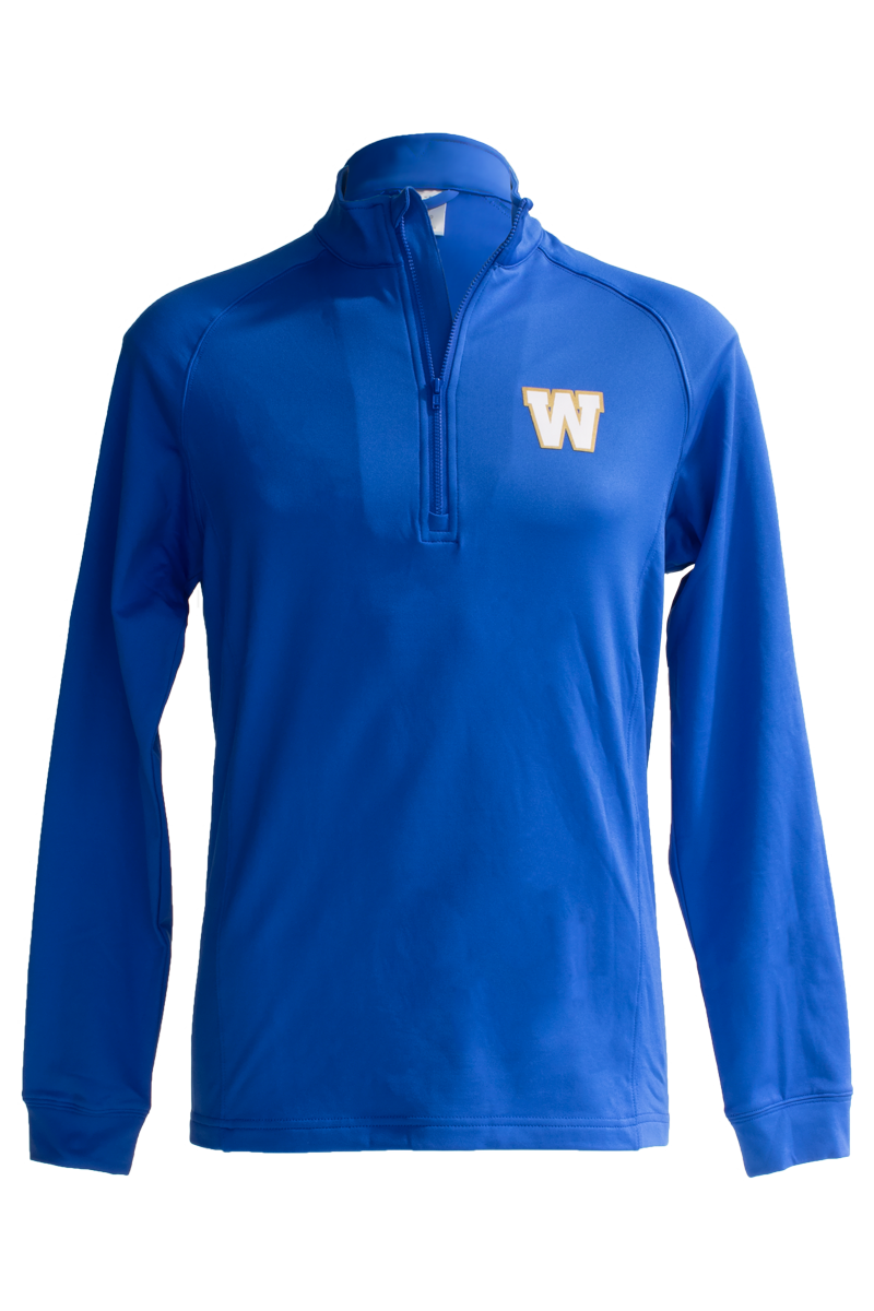 Blue Bombers Levelwear Calibre Royal 1/4 Zip