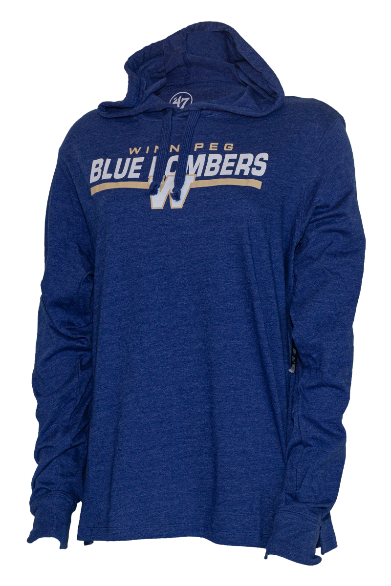 Blue Bombers 47 Club Hood