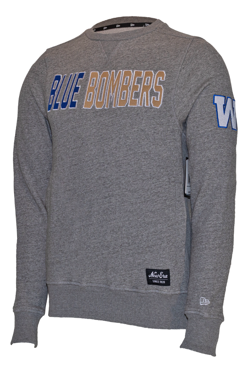 Blue Bombers New Era Mesh Logo French Terry Crew