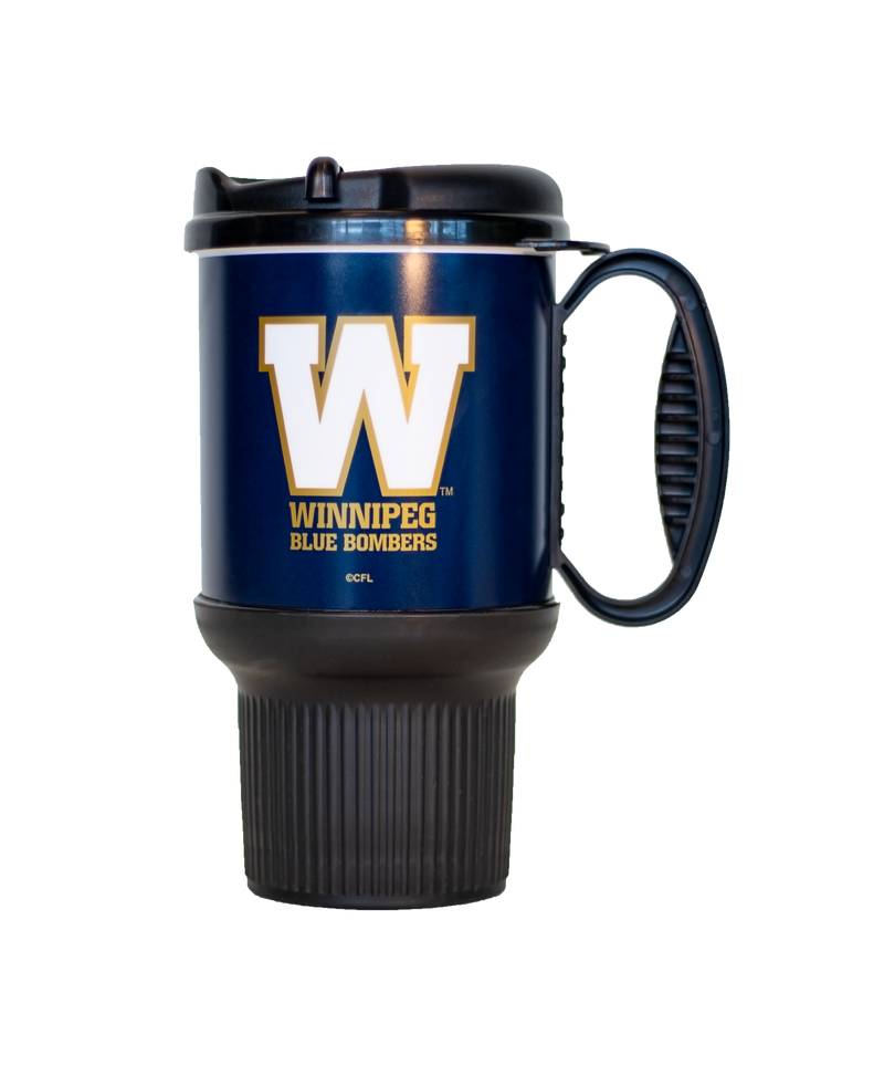 Blue Bombers 20oz Thermo Gripper Mug