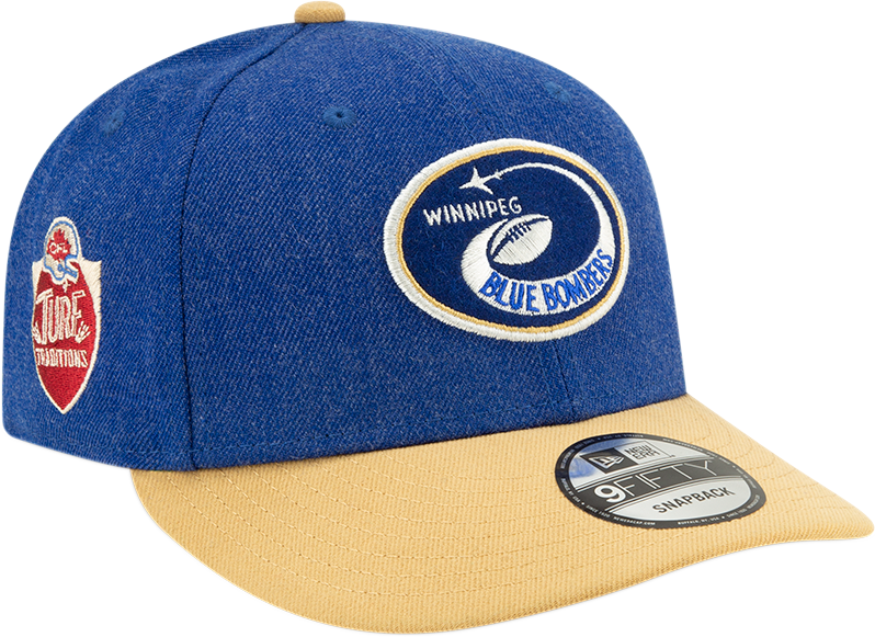 New Era 9Fifty Blue Bombers Turf Traditions Cap