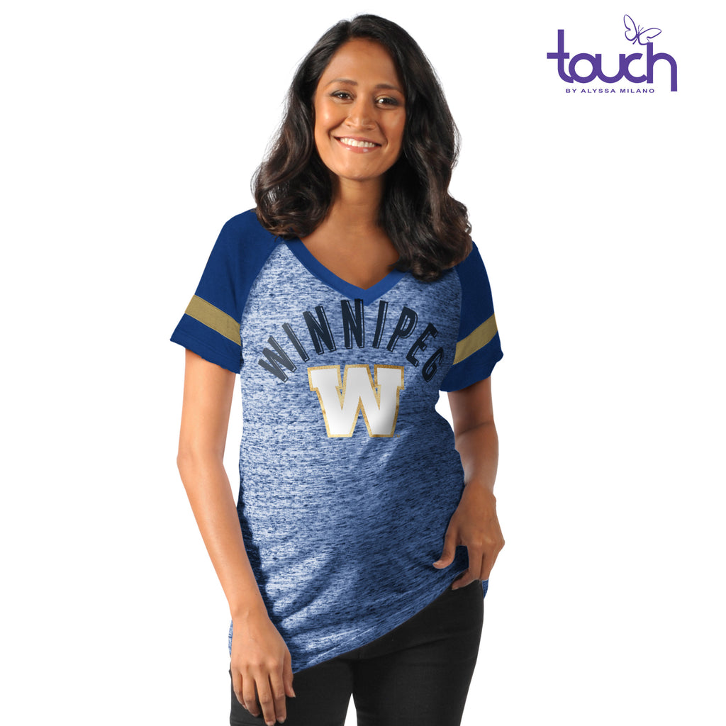 Double Play Maternity V-Neck