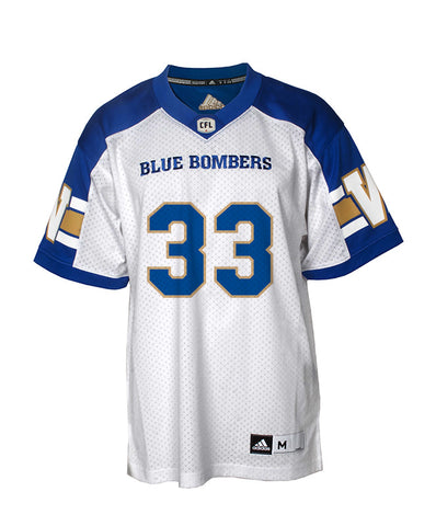 Authentic Blue Bombers Away Jersey - #33 Andrew Harris