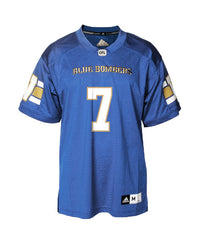 Authentic Blue Bombers Home Jersey - #7 Weston Dressler