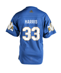 Authentic Blue Bombers Home Jersey - #33 Andrew Harris