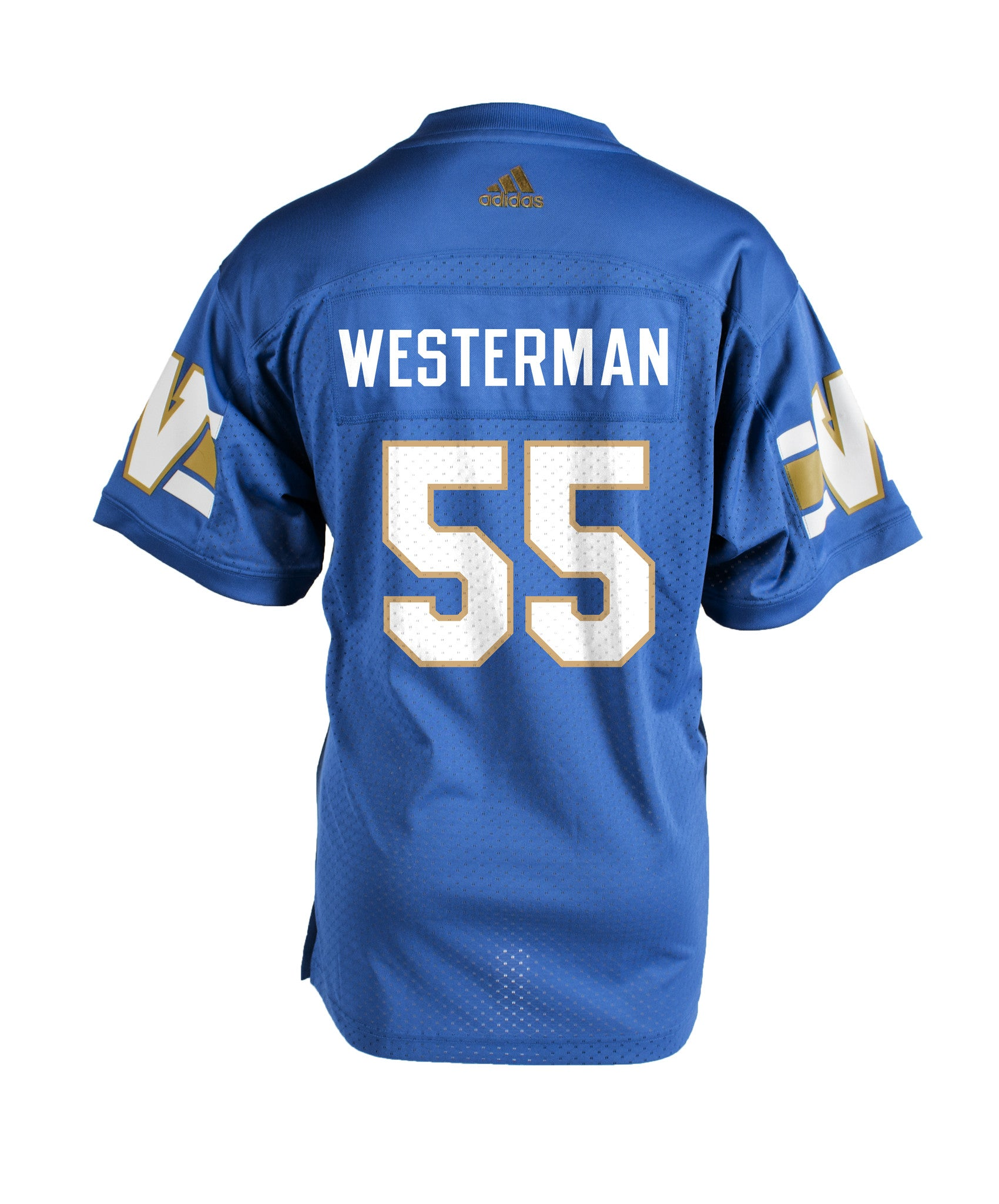 Authentic Blue Bombers Home Jersey - #55 Jamaal Westerman